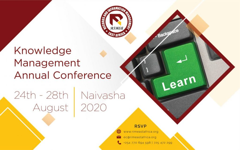 Knowledge Management Conference- Aug 2020